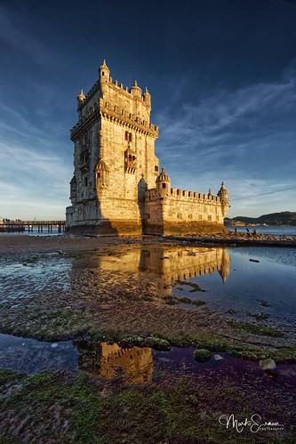 Belém Tower reflections