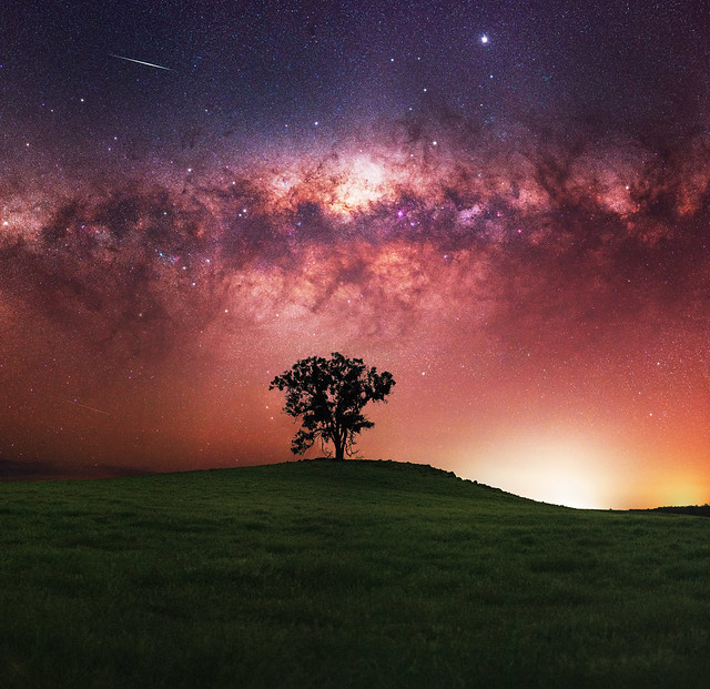 Milky Way at Darkan, Western Australia