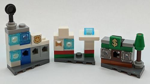 LEGO City Advent 2020 Buildings