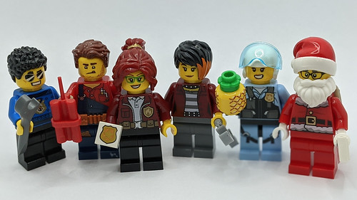 LEGO City Advent 2020 Minfigs