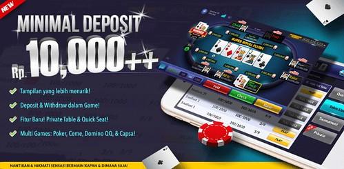 Web Poker Online Deposit 10 Ribu
