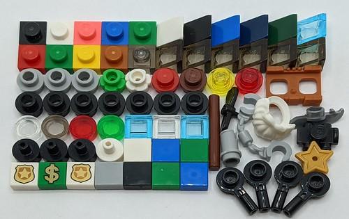 LEGO City Advent 2020 Extra Parts