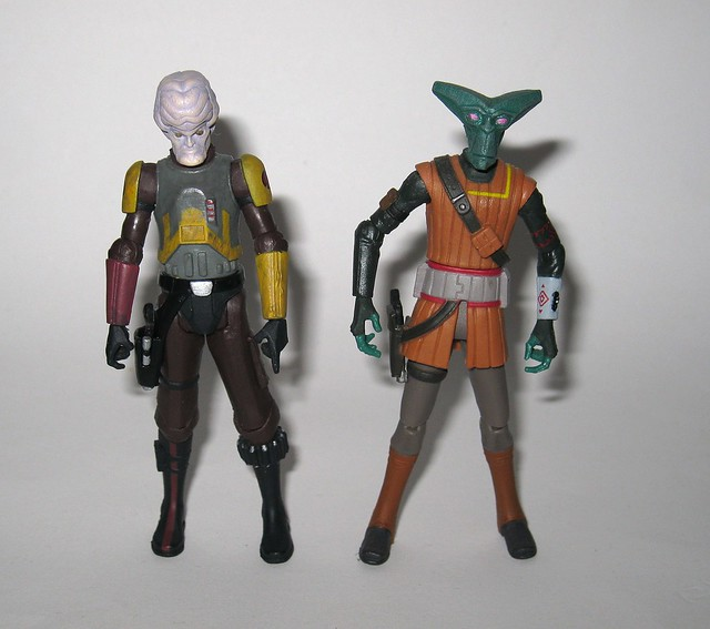sergeant bric mailaway and el-les cw47 star wars the clone wars blue black packaging basic action figures 2010 hasbro