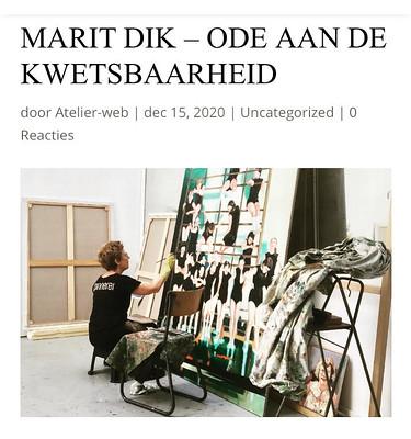 artikel Atelier magazine