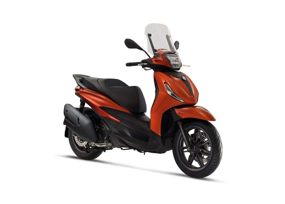 All New Piagio Beverly S 400