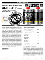 VOLTRONIC motor oil XM BLACK Edition