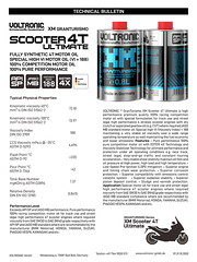 VOLTRONIC motor oil XM Scooter 4T Ultimate