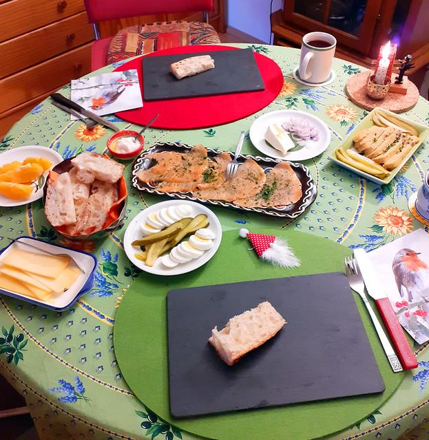 Weihnachten 2020 ... Köstliches Weihnachtsfrühstück ... Brigitte Stolle