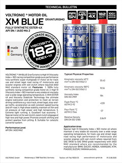 VOLTRONIC motor oil XM BLUE Edition | by VOLTRONIC GmbH Germany