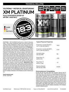 VOLTRONIC motor oil XM PLATINUM | by VOLTRONIC GmbH Germany