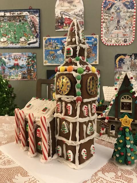 my gingerbread house big ben