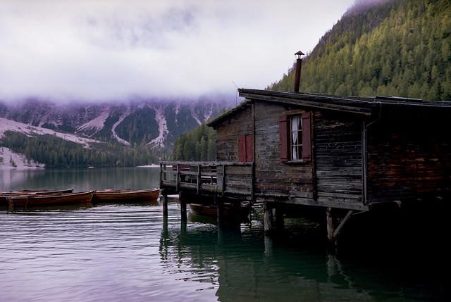 Casa Lago Di Braies - Kodak 160 Portra 6x9 - Dolomiti - Sylvain Brajeul ©