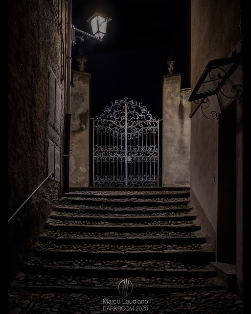 A gate overlooking the night (Gotham Project)