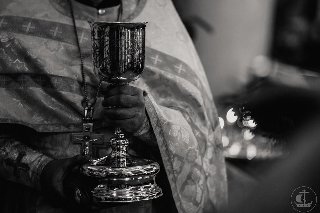 27 декабря 2020, Божественная литургия в храме Сретения Господня на Гражданском проспекте / 27 December 2020, Divine Liturgy in the Church of the Presentation of the Lord on Grazhdansky Avenue