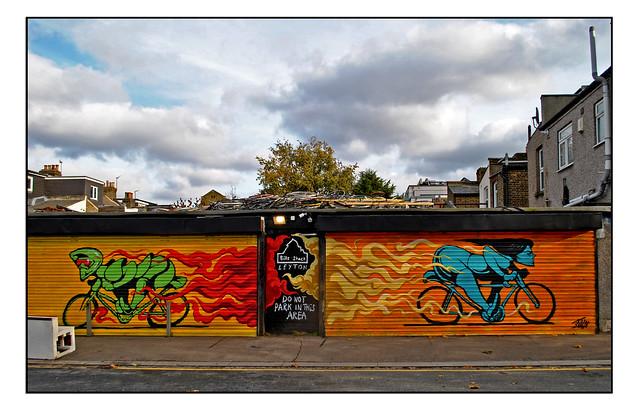 LONDON STREET ART by IAIN MACARTHUR