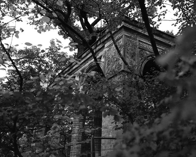 Some pittoresque Ruin on Campus