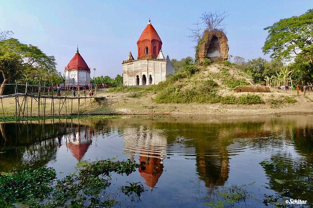 Naldanga temple complex Kaligonj around Jhenaidah, Bangladesh