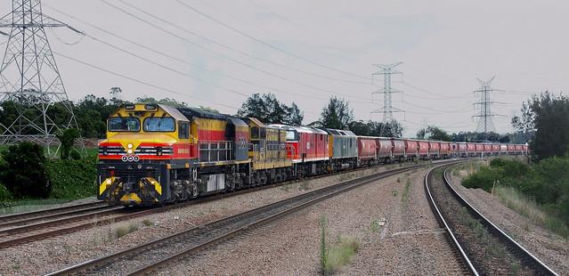 BRM001 + 4904 + 42193 & RL301 SSR LOADED GRAIN - WARABROOK 6th Dec 2020