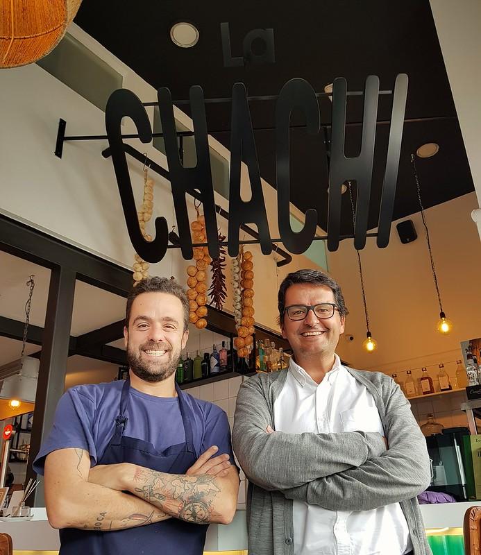 En La Chachi con Javier Gutiérrez