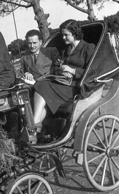 Suoceri in viaggio di nozze a Firenze, 1948