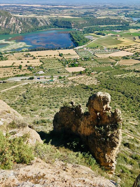 Roques del Castell de Sant Llorenç de Montgai 3