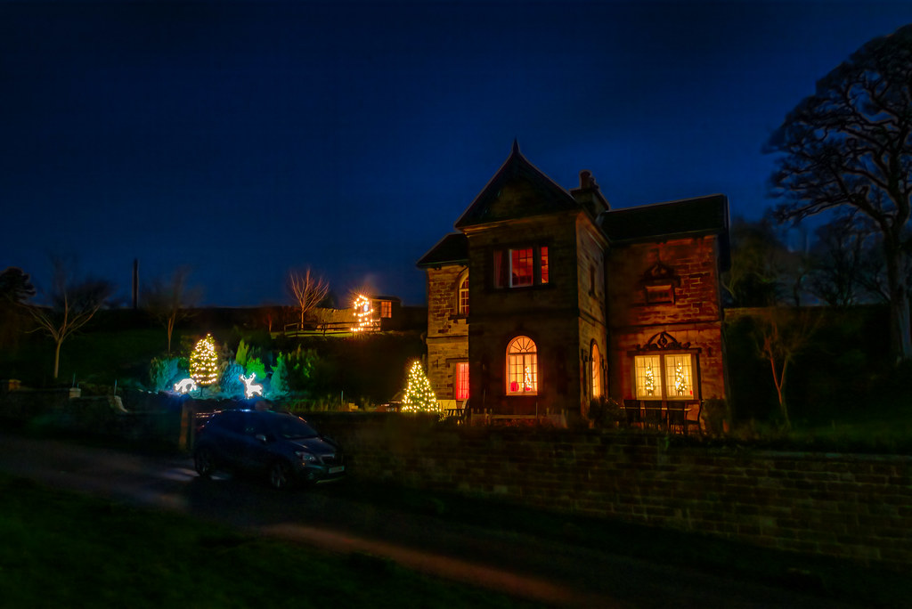 Edensor Christmas Lights