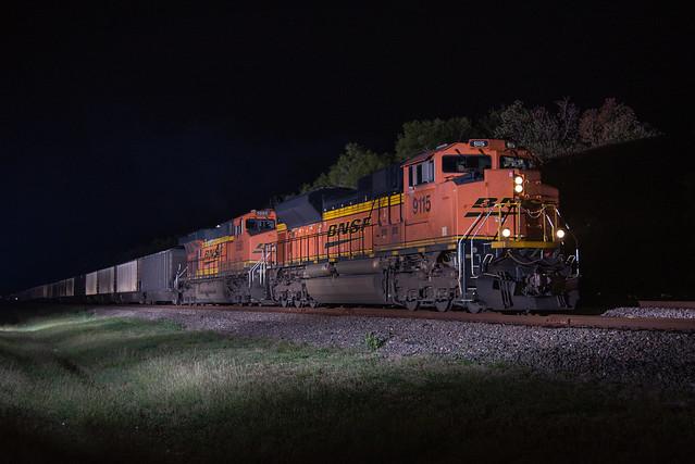 Nighttime Coal Loads