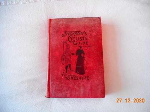 Jacksons  Cyclist guide to Yorkshire Dated 1900 | by rebalrid
