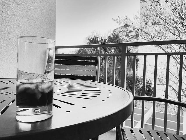 Noir cocktail.