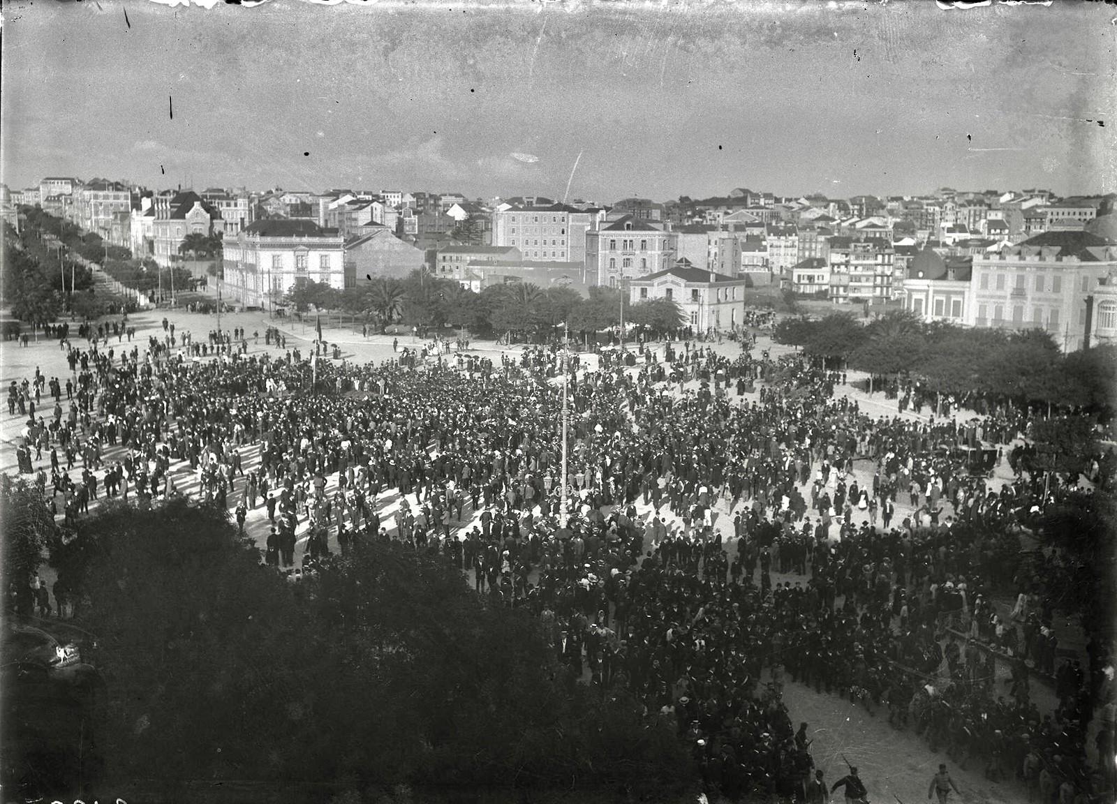 Rotunda, Lisboa (J. Benoliel, 1917)