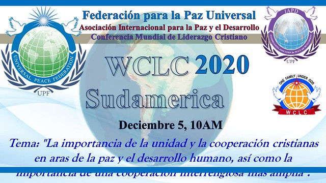 South America-2020-12-05-UPF-South America Holds WCLC Webinar With Over 1,000 Participants