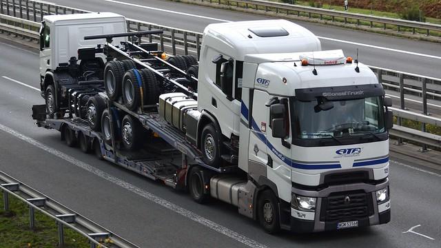 PL - ATF Heavy Transport Renault Range T Highsleeper