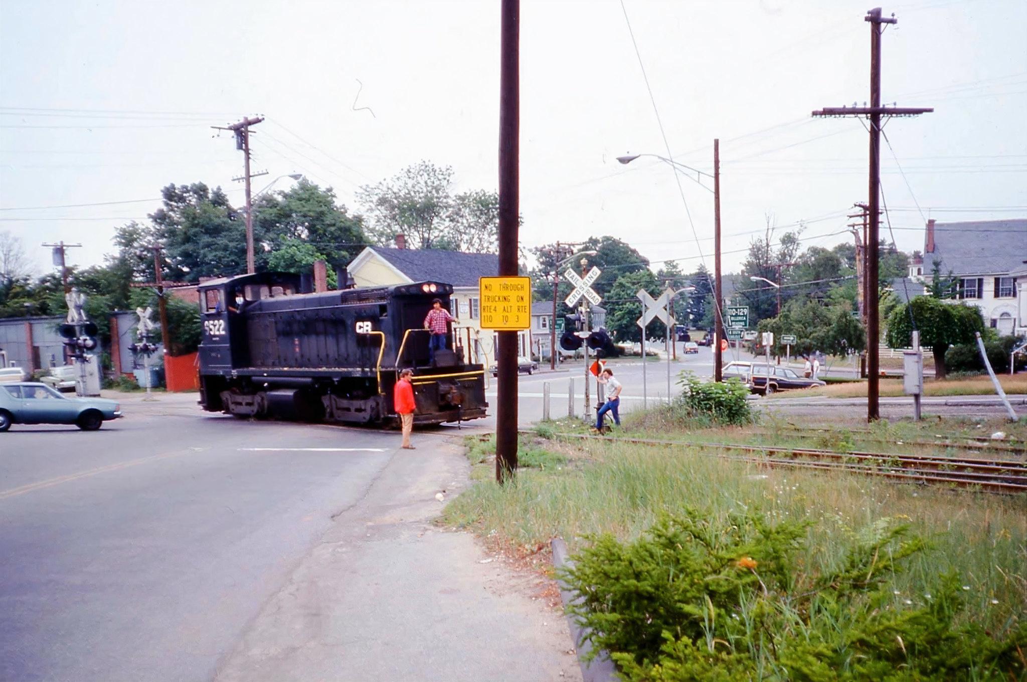Framingham & Lowell Railroad (Summer 1977)