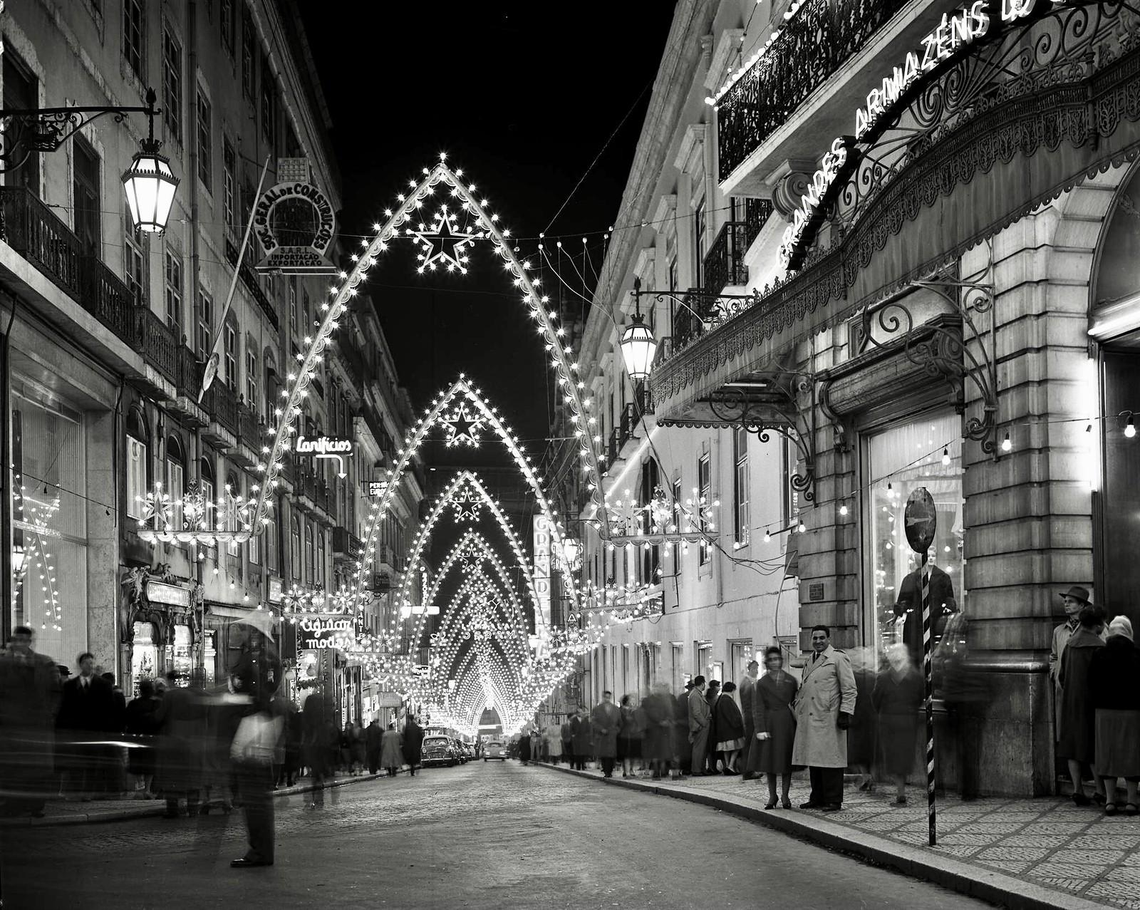 Rua do Carmo, Lisboa (A. Serôdio, 1959)