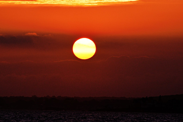 Connecticut Seascapes and Sunsets #107