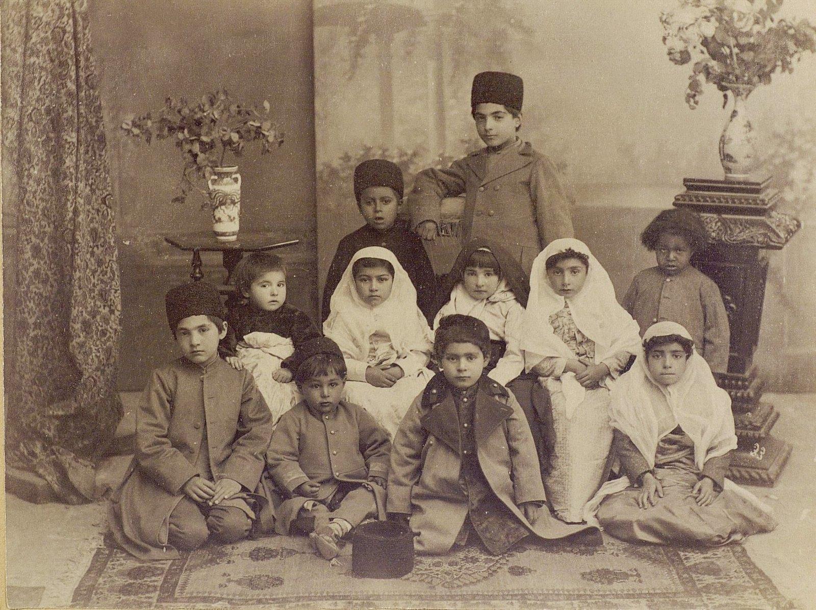 Дети и внуки принца Мульк-Ара
