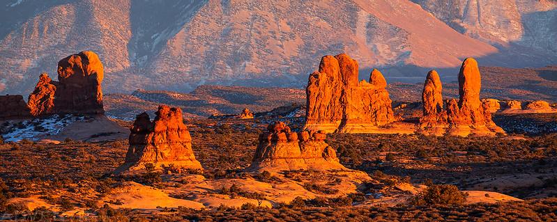 Sandstone Spires Sunset