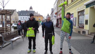 Vánoční běh Hlučínem ovládli Stanovský a Sobková