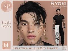Lelutka Alain 2.5 shape - Ryoki
