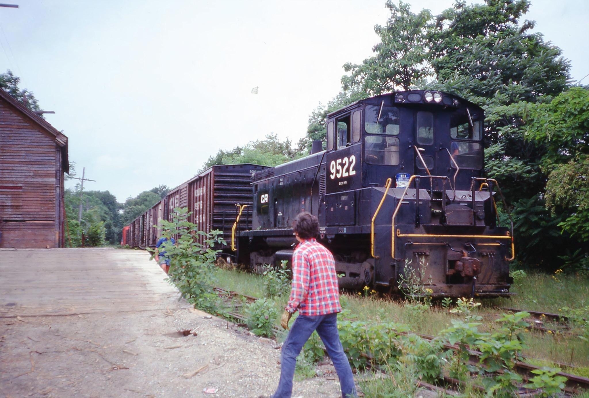 Framingham & Lowell Railroad (Summer 1977) 2