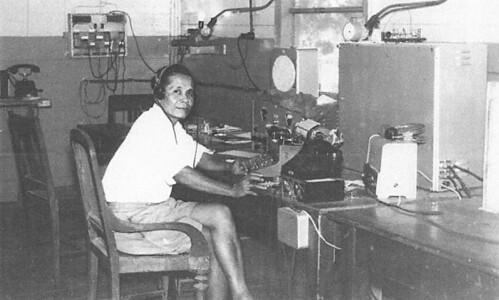 Schrijver-telegrafist en Beheerder Hulppostkantoor Tepa (Babar), 1942-1945, P.J. Tanasale.