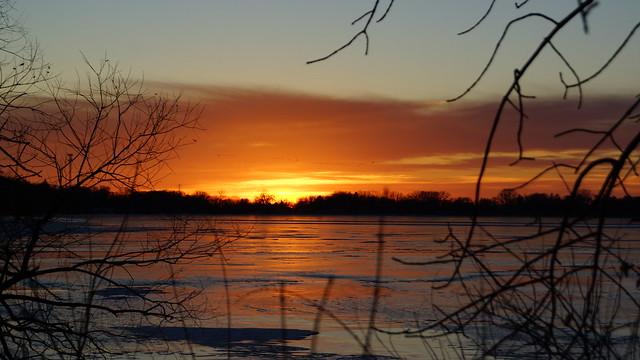 Foot Lake Sunset