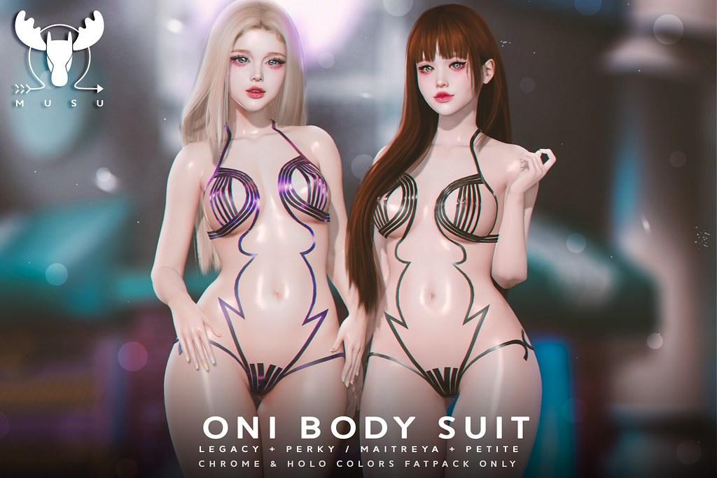 -MUSU- Oni BodySuit @ Kinky
