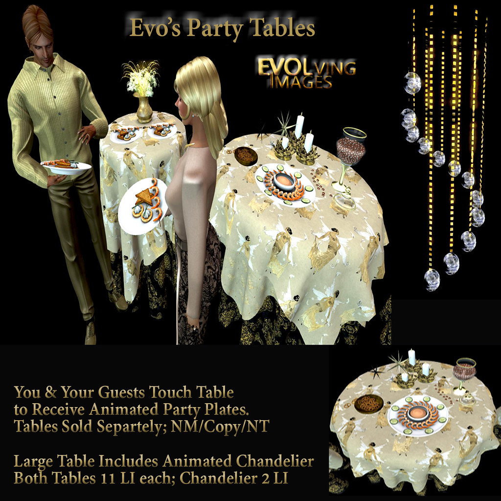 Party Tables Ad