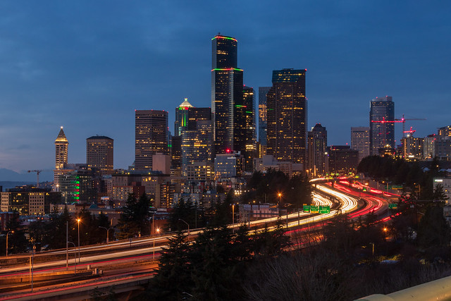 Downtown Blue Hour