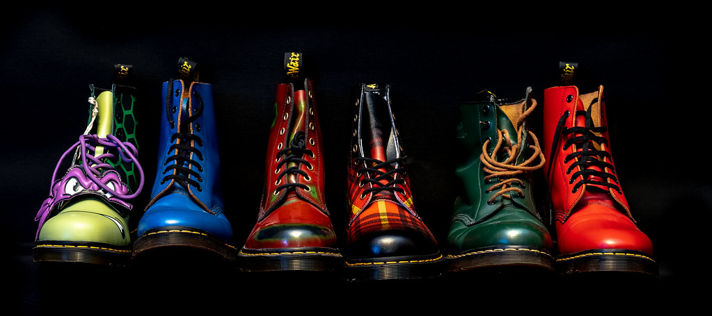 Dr Martens 1460, various.