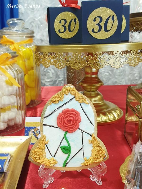 decoración Bella y BEstia Merbo Events