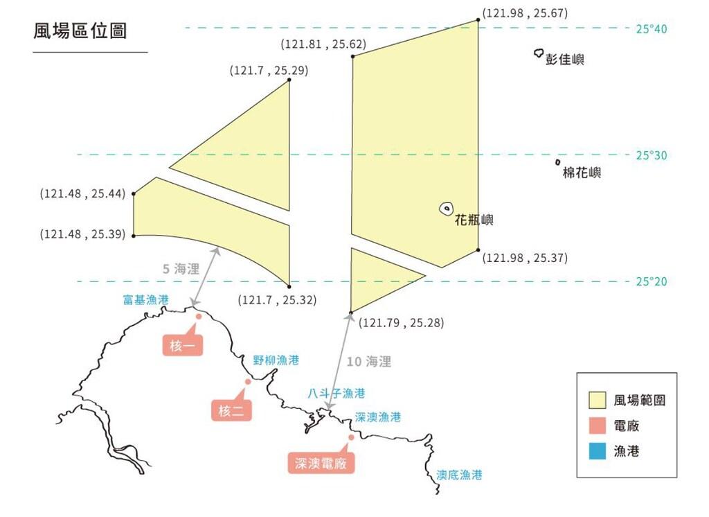 面積高達1000平方公里,影響北方三島周邊重要漁場。圖片來源:會議簡報