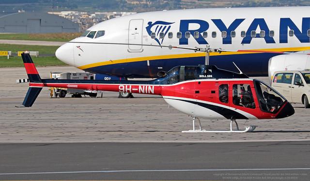 9H-NIN LMML 23-12-2020 Private Bell 505 Jet Ranger X CN 65319