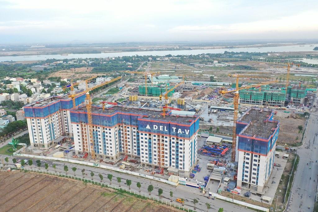 Tiến độ xây dựng đúng hạn là điểm tốt của CĐT